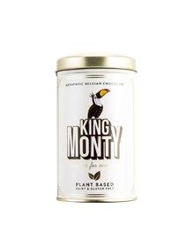 Ciocolata King Monty, Classic Cacao Tin, neagra, 130 g