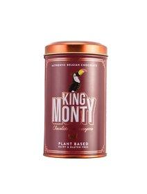 Ciocolata King Monty Purest Ecuador Tin neagra, 130g