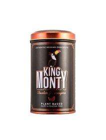 Ciocolata neagra King Monty-Sunny Orange Tin, 130 g