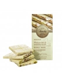 Cioolata Venchi - White Chocolate Bar With Salted Dried Fruit With No Added Sugar, 100 g