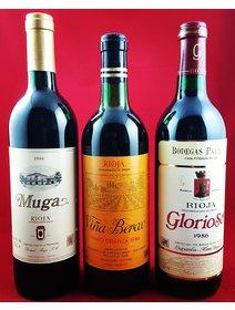 Glorioso, Berceo, Muga. Selectie din 1986 -  Vinuri rosii Spania