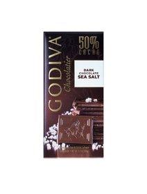 Godiva Dark Chocolate Bar With Sea Salt, 100 gr