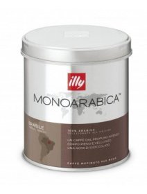 Illy Monoarabica Brasile cafea, 125 g