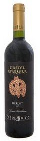 Merlot Castel Starmina. Vinuri Vinarte, vinuri romanesti
