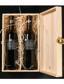 Pachet cadou Liliac Merlot - Sauvignon blanc Private Selection
