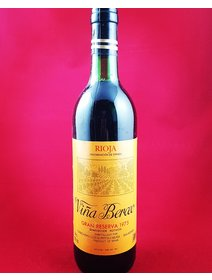 Vina Berceo - Rioja -1975 - Vin rosu Spania. Vin de Colectie