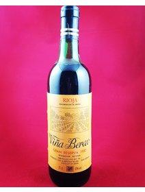 Vina Berceo - Rioja - 1980. Vinuri rosii de colectie.