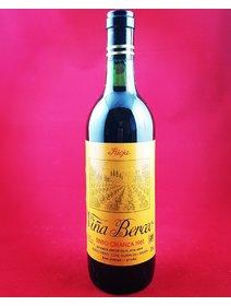 Vina Berceo - Rioja - 1981. Vinuri rosii Spania. Editie Limitata.