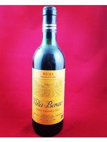 Vina Berceo - Rioja -1985. Vinuri rosii Spania. Vinuri de colectie.