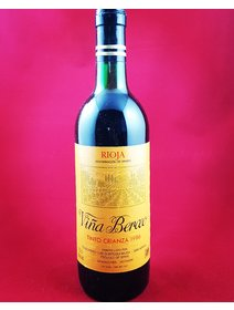 Vina Berceo - Rioja - 1986. Vinuri rosii Spania. Vinuri de colectie.